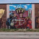 Nick Scrimenti - Fire Fighters Union Mural