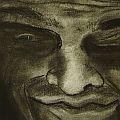 Nick Scrimenti - Smeared Face on Copy Machine