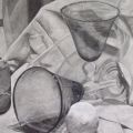 Nick Scrimenti - Reflective Glass Drawing
